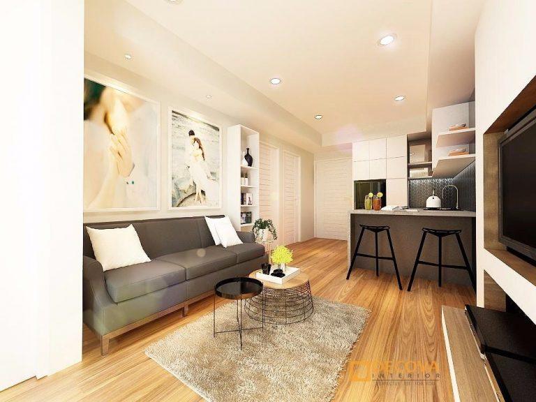 Desain Ruang Tamu Rumah Type 36  inspirasi ruang tamu minimalis indah dan nyaman green village